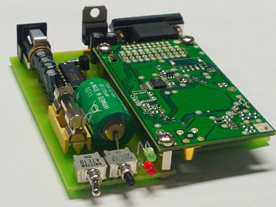 GPS-Receiver mit Jupiter Board